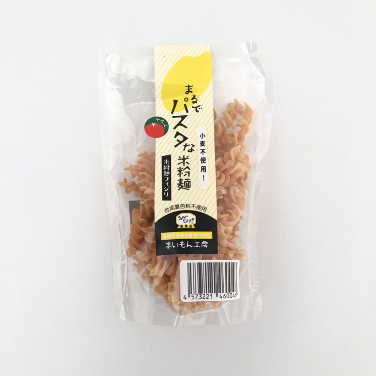 まるでパスタな米粉麺(トマト)
