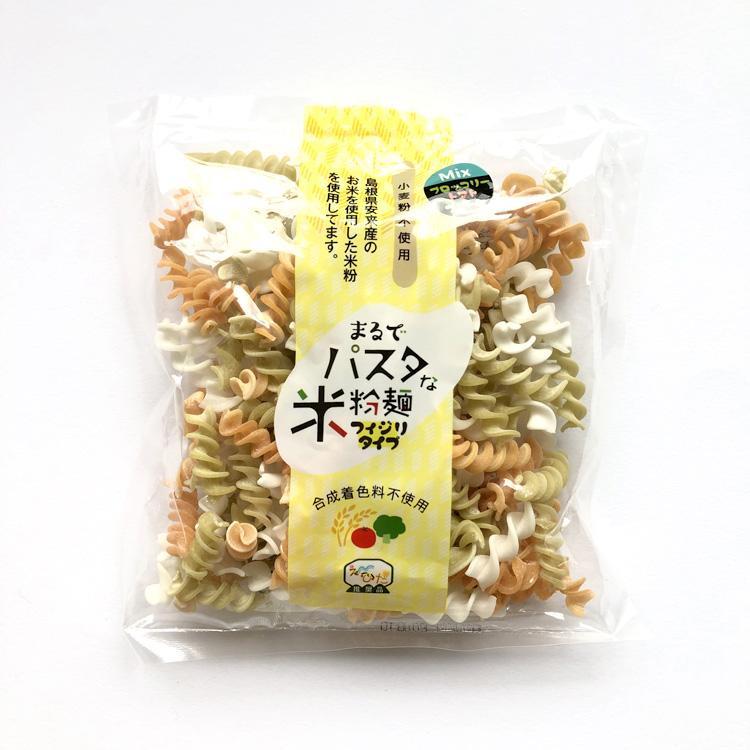 まるでパスタな米粉麺(トリコロール)