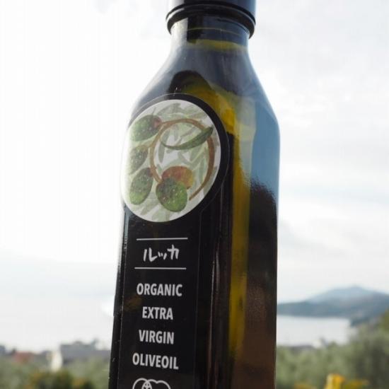 小豆島産有機オリーブオイル(ルッカ種 エキストラバージンオリーブオイル)