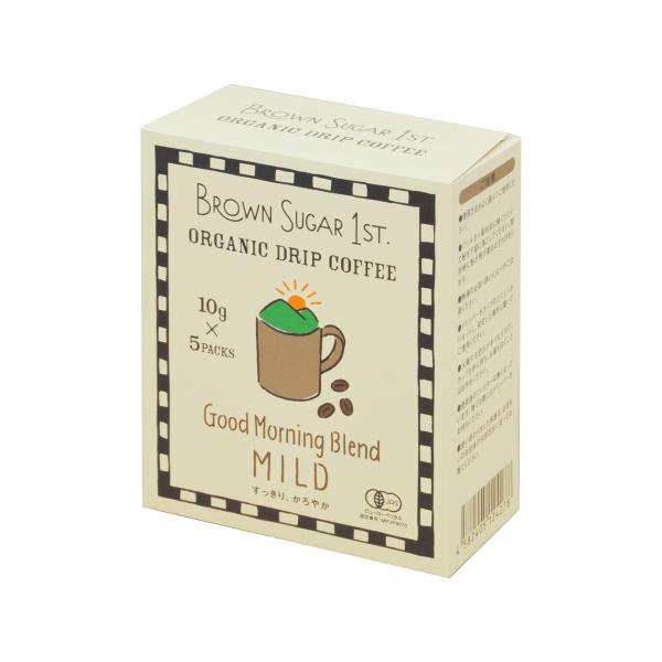 オーガニックドリップコーヒー Good Morning Blend -MILD-